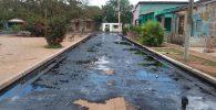 derrame de petróleo en Calimete bog cubatel