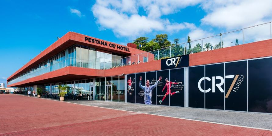 pestana hotel CR7 blog cubatel