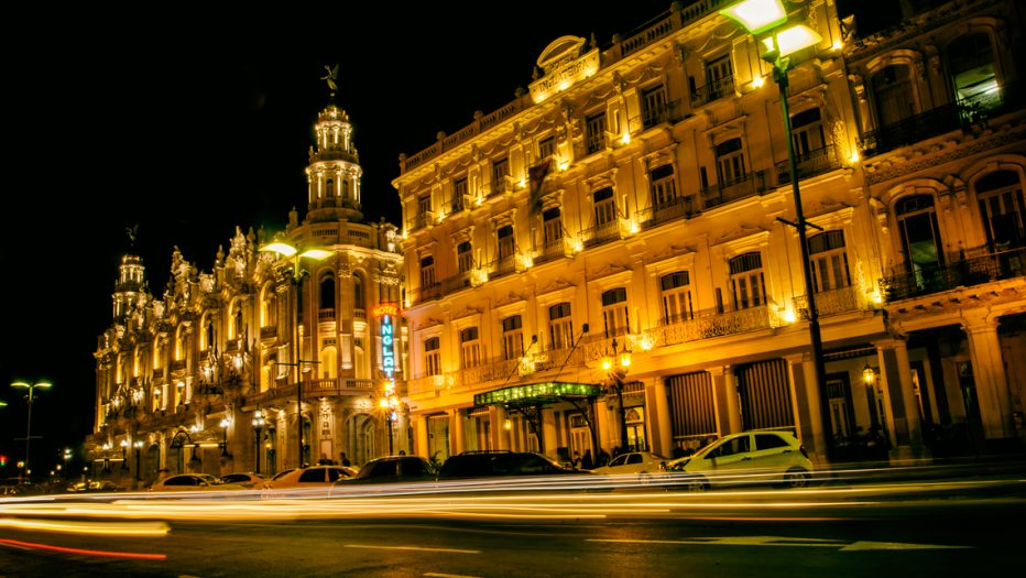 Habana de noche Cuba
