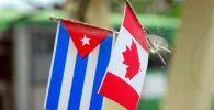 bandera de cuba y canada