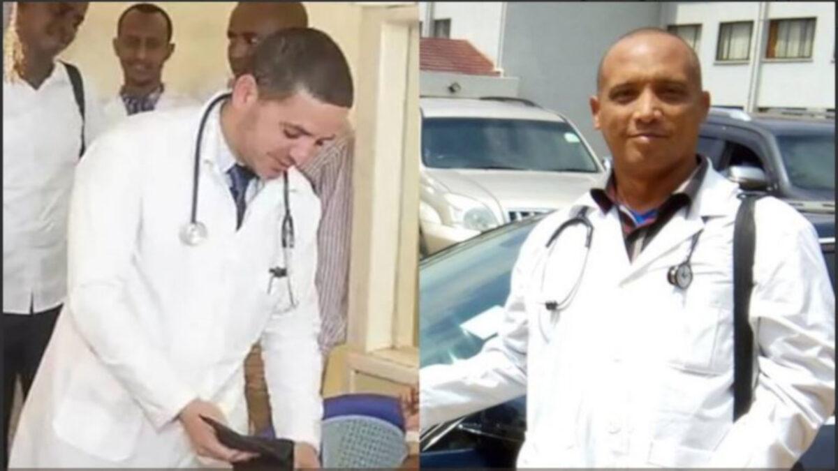 secuestro de los medicos cubanos en Kenia