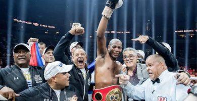 El boxeador cubano Yunier Dorticos, nuevo campeon crucero de la IBF