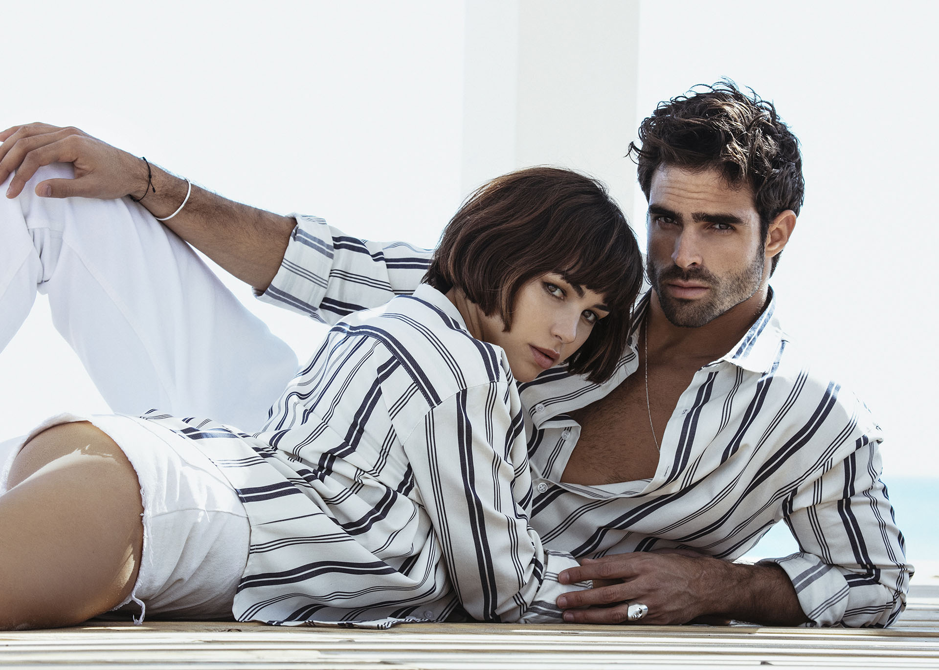 camisas de modelo cubano
