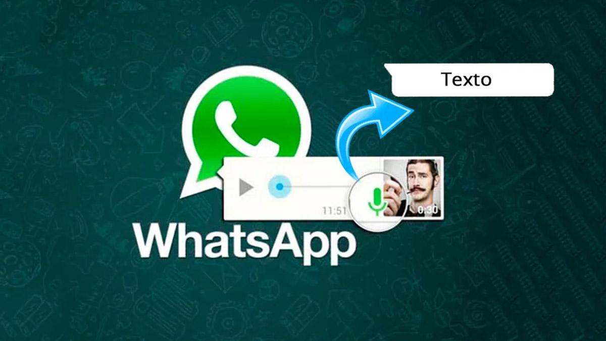 mensajes de voz a texto en whatsapp