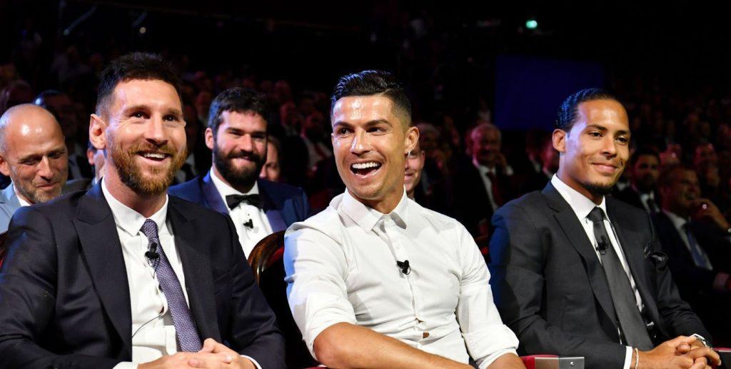 cena de Messi y Cristiano Ronaldo