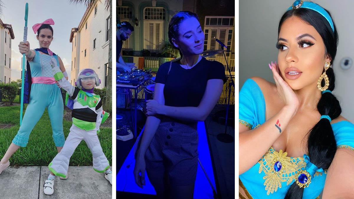 famosos cubanos en halloween