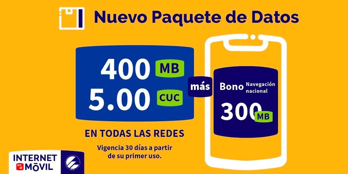 Tras las negativas repercusiones de los recientes paquetes, la empresa cubana de telecomunicaciones anuncia nuevas modificaciones