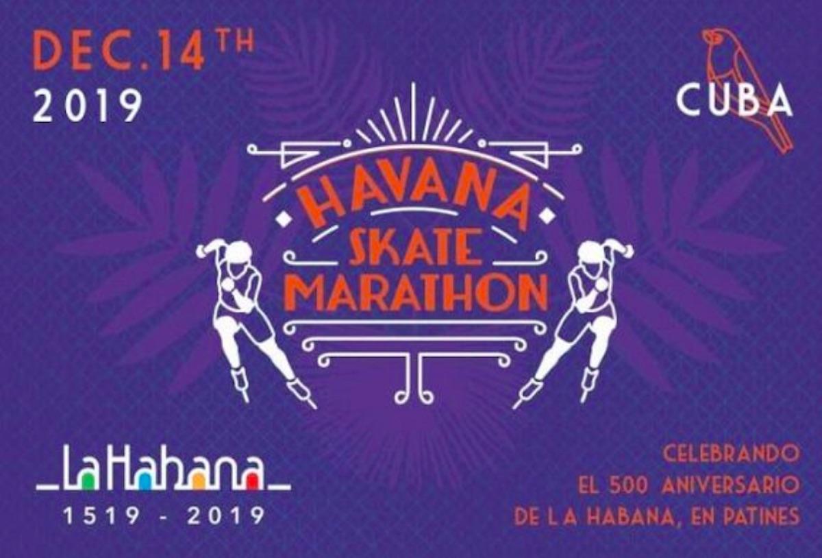 primer maratón de patinaje cubano el próximo sábado 14 de diciembre