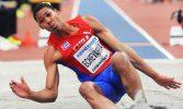 Juan Miguel Echevarría Meeting de Atletismo de Madrid