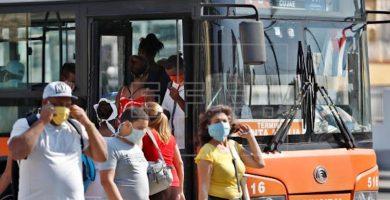 A partir del 11 de abril se paraliza el servicio de transporte público urbano