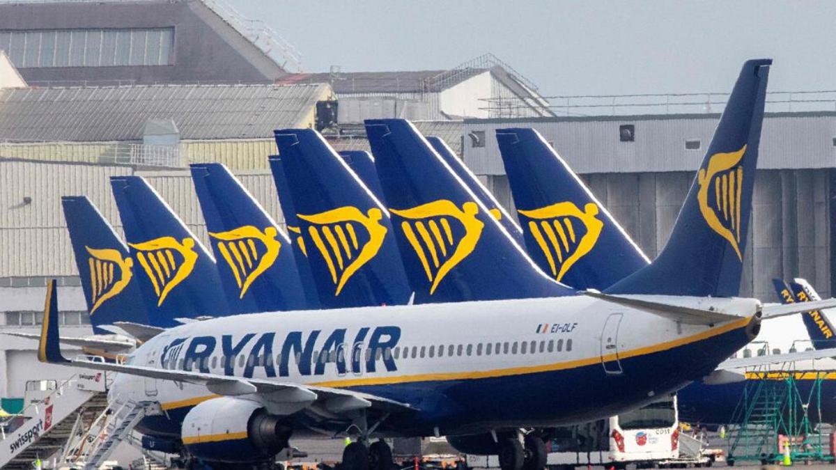aerolínea europea bajo-costo Ryanair