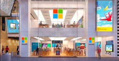 Microsoft dijo que seguirá reinterpretando los espacios físicos en sus cuatro megacentros