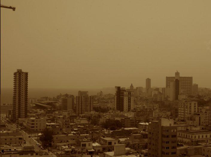 en La Habana los niveles de concentración del polvo del Sahara serán más elevados