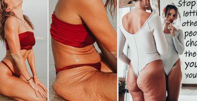 Danae Mercer: la modelo que se hizo famosa por publicar fotos reales de su cuerpo