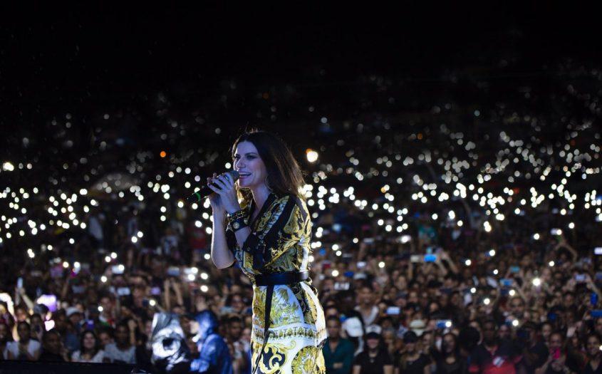 cantante italiana Laura Pausini