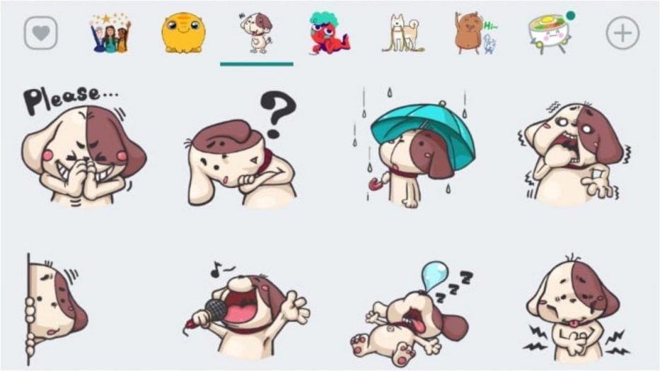 stickers animados de WhatsApp