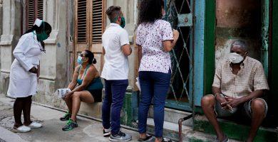 diagnosticados por covid-19 en Cuba