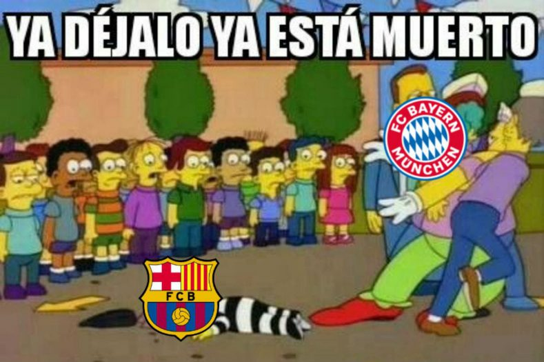 juego del Barcelona Vs. Bayern