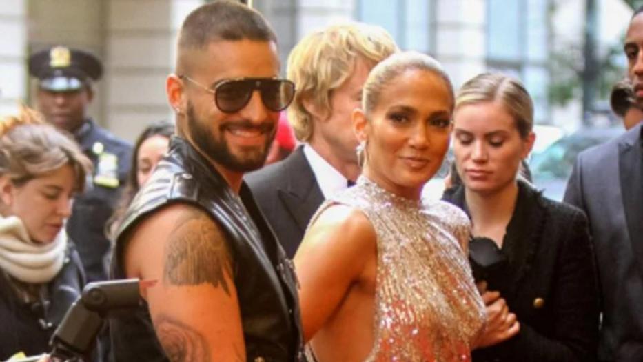 Jennifer López y Maluma: la nueva pareja del cine