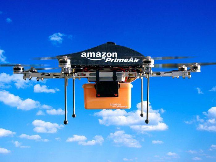 Amazon podrá realizar entregas de paquetes con drones