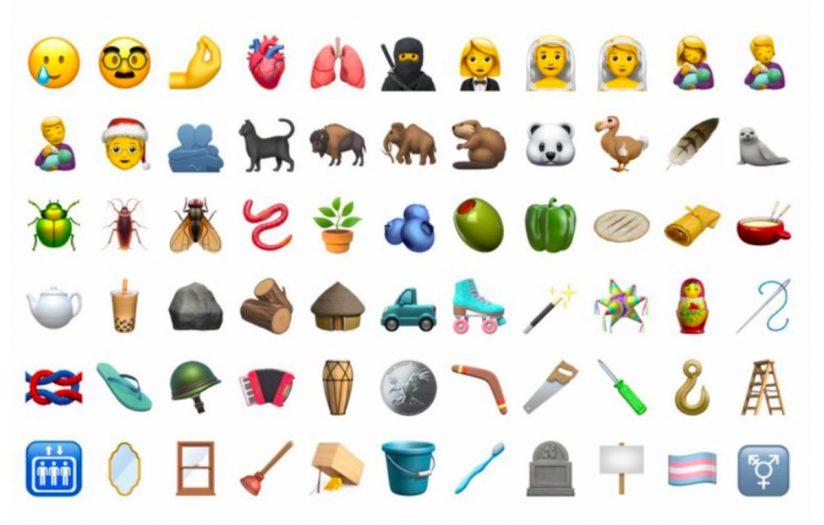 los usuarios encontrarán 55 variantes de emojis, y más de 60 objetos nuevos