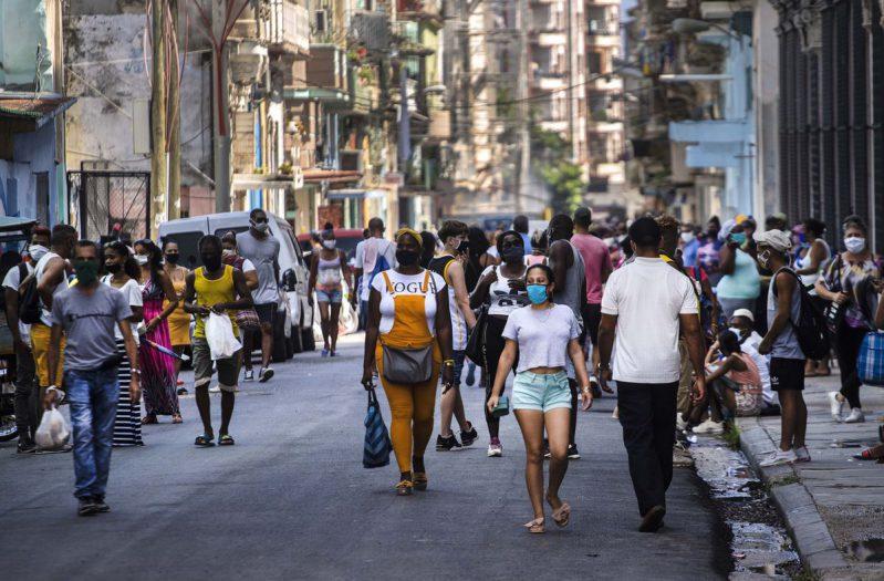 nuevo récord de casos diarios de coronavirus en Cuba
