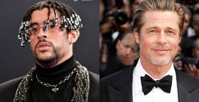 Bad Bunny y Brad Pitt