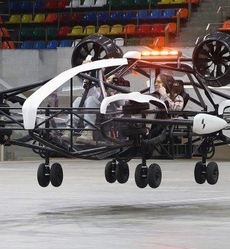 taxi volador en Rusia