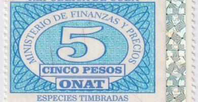 nuevos sellos para tramites en Cuba