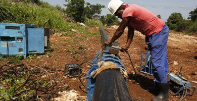 servicios de agua en Cuba