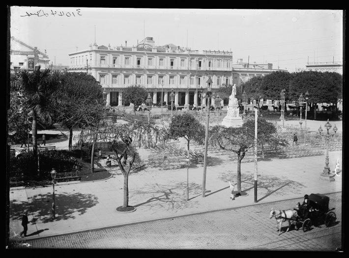 Hotel Inglaterra vista antigua