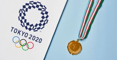 la inauguración de los Juegos Olímpicos