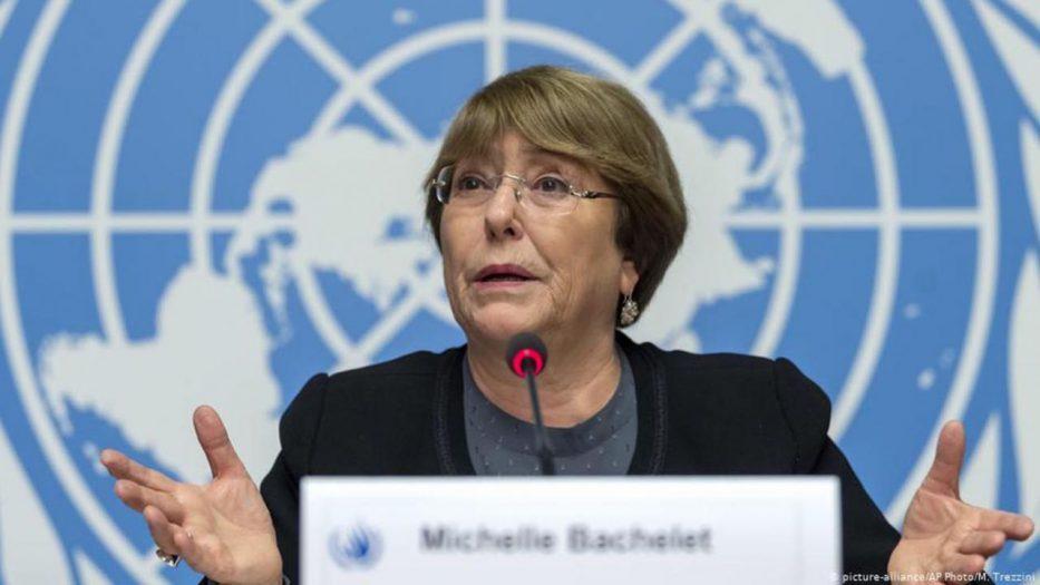 Michelle Bachelet pide libertad para manifestantes detenidos en Cuba