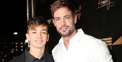 Christopher Levy y su papá William Levy