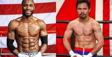 Cubano Yordenis Ugás peleará con Manny Pacquiao