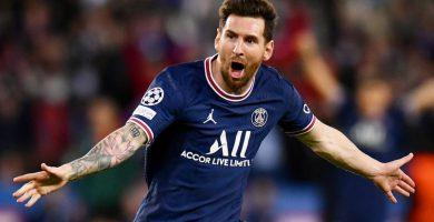 El primer gol de Messi en el PSG
